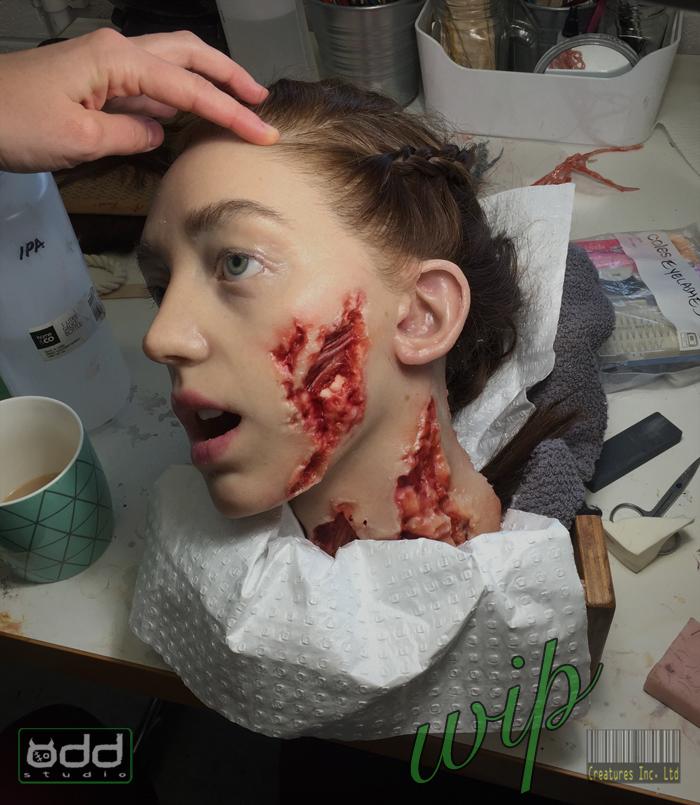 Odd Studio Alien Covenant Rosenthal Dismembered Head