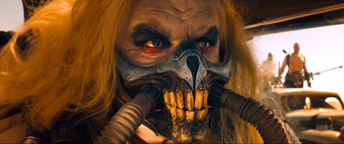 Fury Rd, Mad Max 4: Feature Film. Odd Studio credited special make up effects and prosthetics.