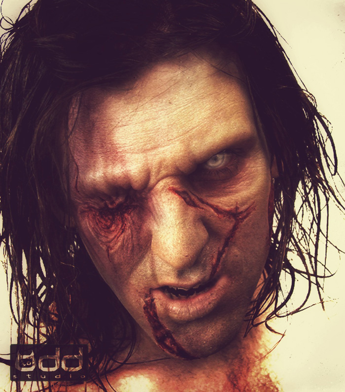Stay Dead Zombie: concept make up.