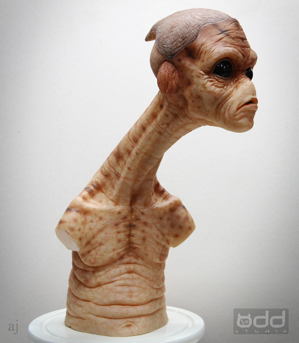 Little Alien dude. Concept-sculpt by Adam Johansen. Paint job by Damian Martin.