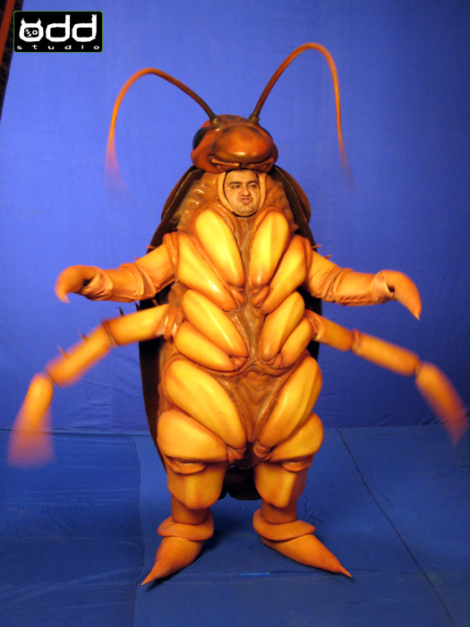 PCI Pest Control: Indian Adfilm. Odd Studio produced these fun, insect costumes for a series of Indian Adfilms shot in Mumbai.
