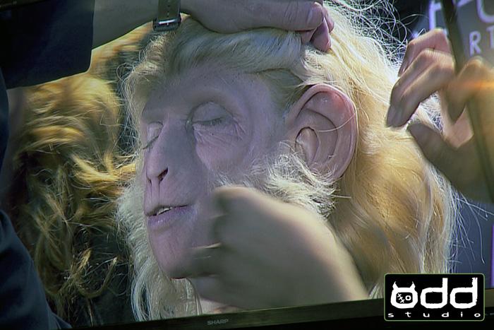 The Amazing Monkey Lady, Sideshow. IMATS Sydney Demo 2014.