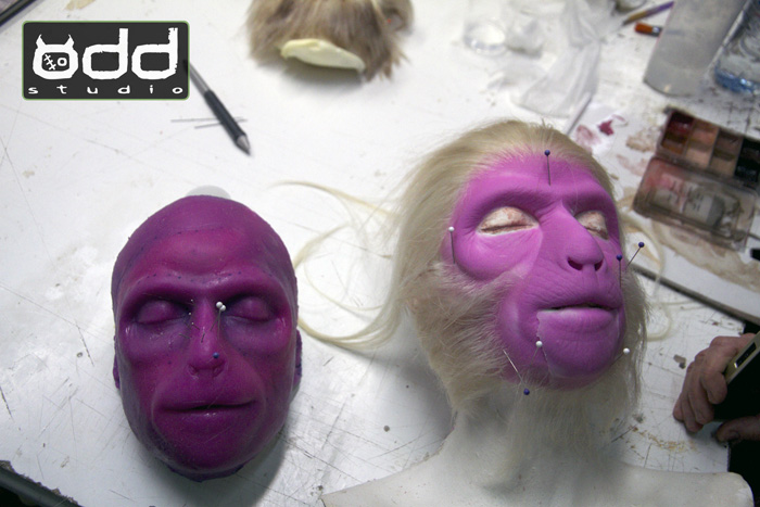 The Amazing Monkey Lady, Sideshow. IMATS Sydney Demo 2014.