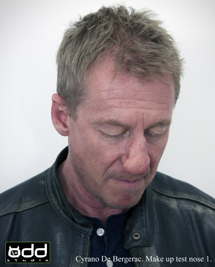 Cyrano De Bergerac. Sydney Theatre Company. Odd Studio was approached to produce THE nose for Richard Roxburgh who plays Cyrano at the Sydney Theatre Company 2014.