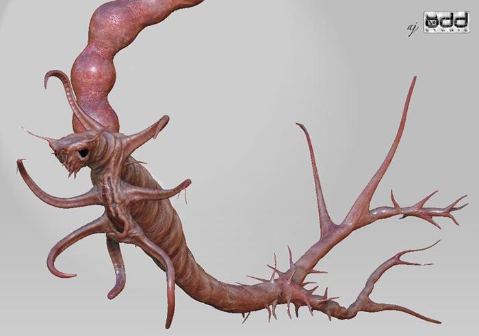 Unused concepts for a horror-comedy film. Concept by Adam Johansen.